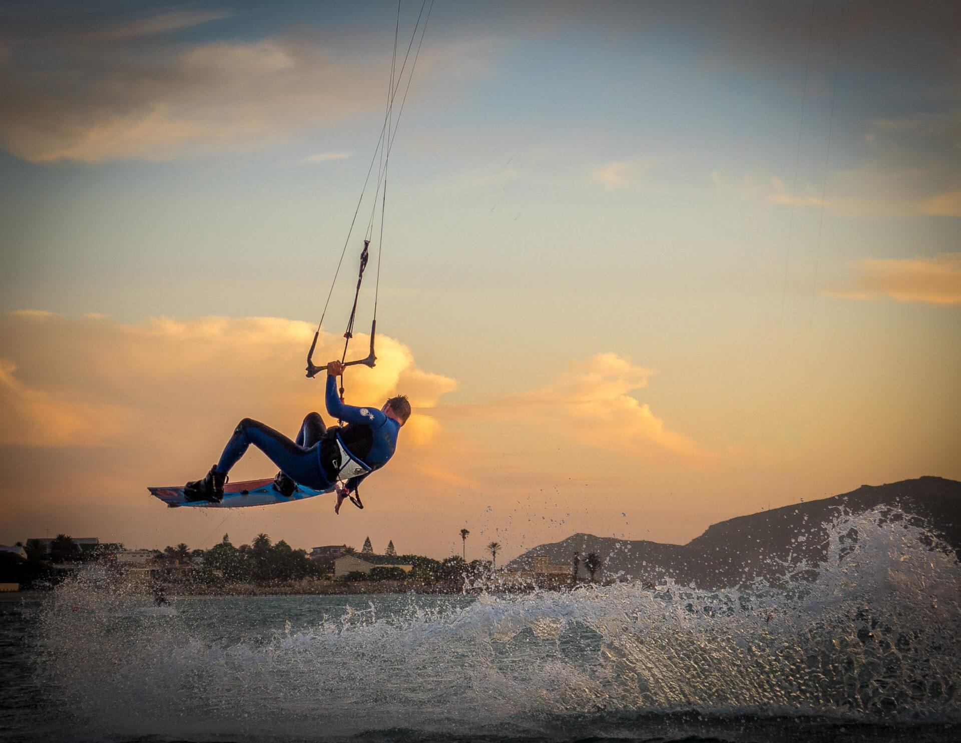 Langebaan kitesurf session